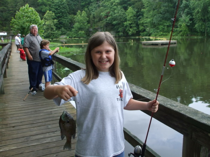 Fishing is always a fun field trip. It's frugal, it teaches your child patience, and they actually learn something in the process. #homeschool