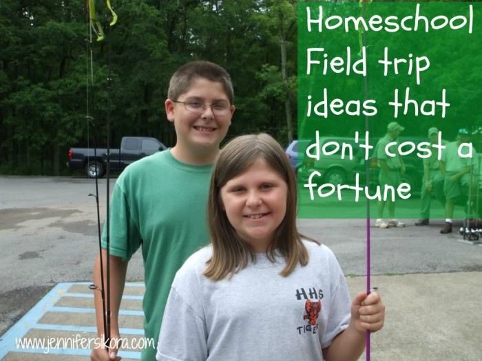 Here are some great homeschool field trip ideas that don't cost a dime. #homeschool