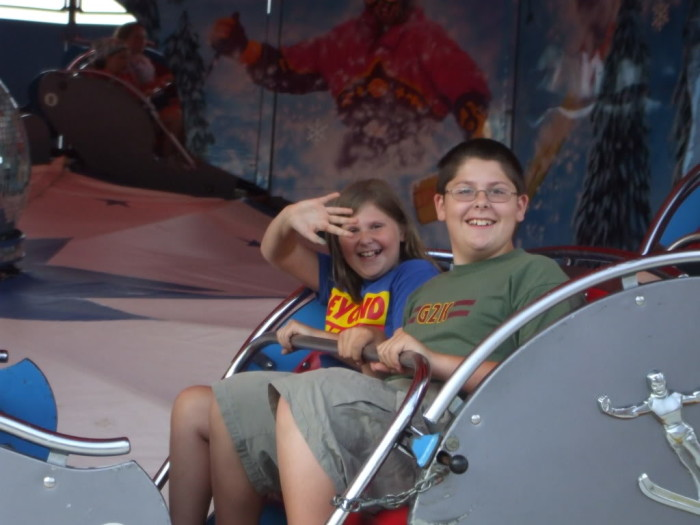 Kayla and Robert at the Fair
