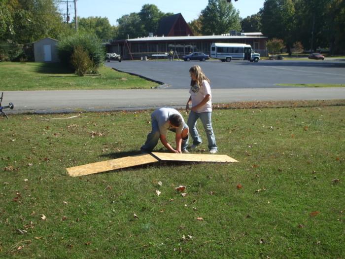 Building a ramp