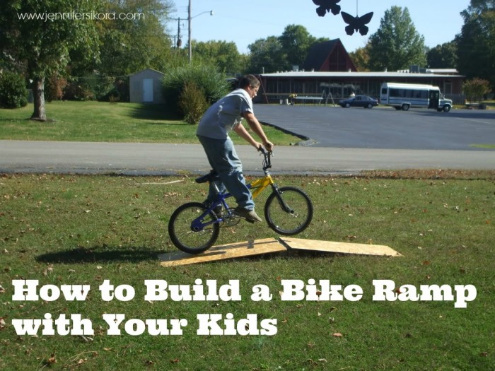 How to Build a Bike Ramp