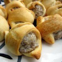 Cream Cheese Sausage Rolls