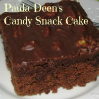 Candy Snack Cake