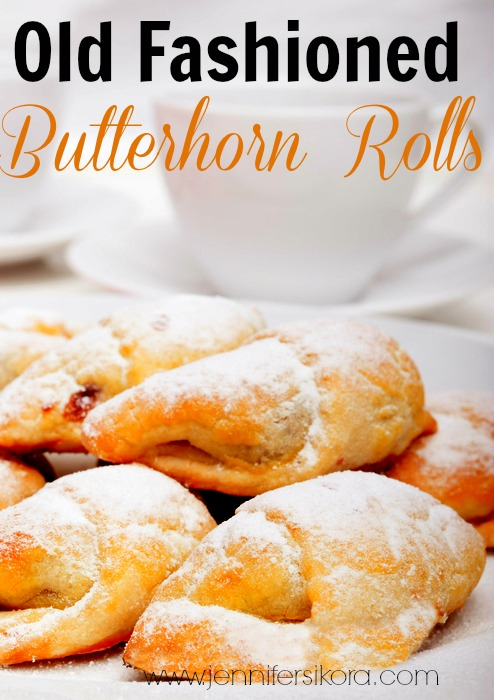 Old Fashioned Butterhorn Rolls