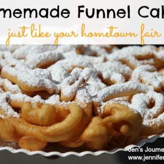 Homemade Funnel Cake