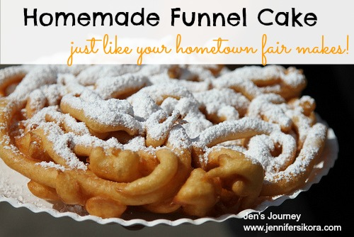 How To Make Funnel Cake Batter From Scratch