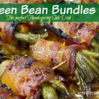 Green Bean Bundles - The Perfect Thanksgiving Side Dish