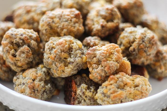 Classic Sausage Balls recipe bisquick