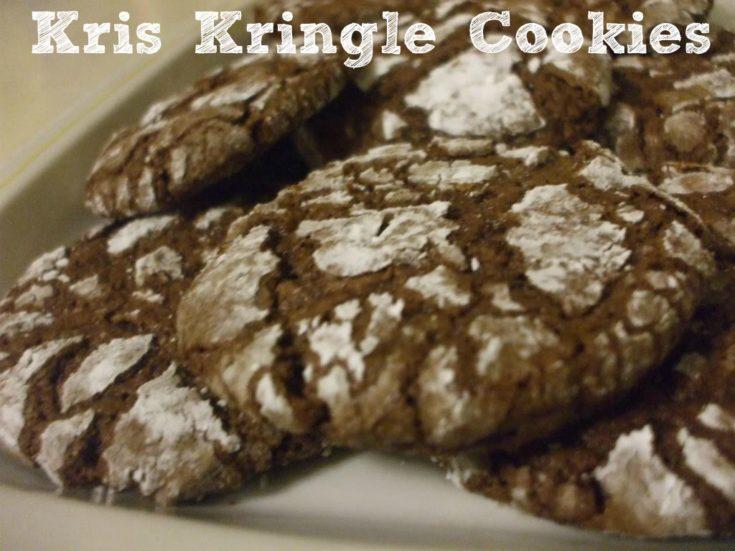 Kris Kringle Fudge Cookies