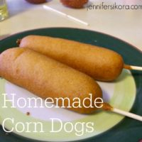 Corn Dogs--SO Good and Easy Too!