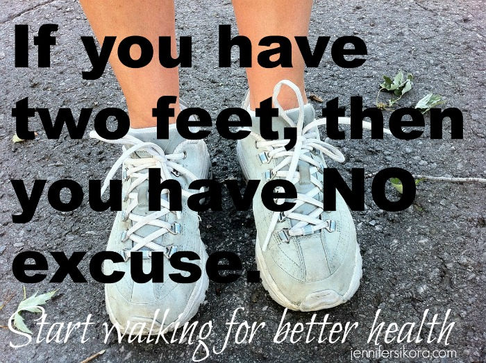 Making a Choice – Start Walking for Better Health