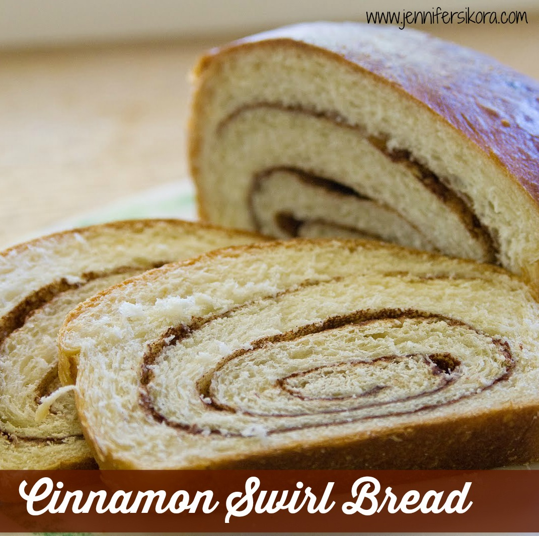 Cinnamon Swirl Bread~A Kitchenaid Favorite! - Jen Around the World