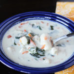 Copycat Olive Garden Chicken and Gnocchi Soup