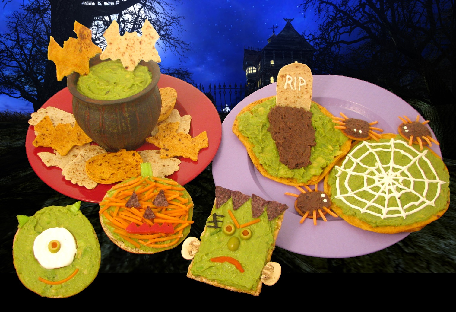 Nutritious Decorating and Halloween Tips from Wholly Guacamole