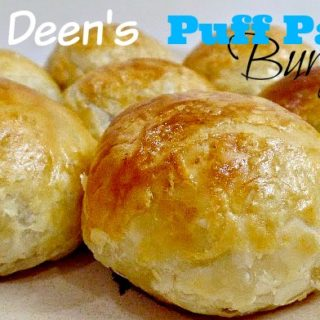 Puff Pastry Burgers