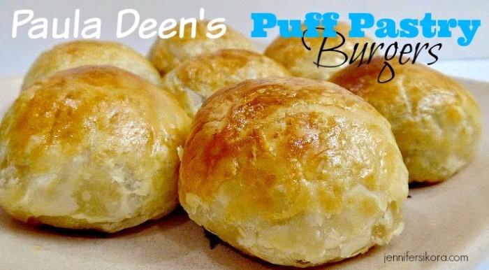 Paula Deen Puff Pastry Burgers