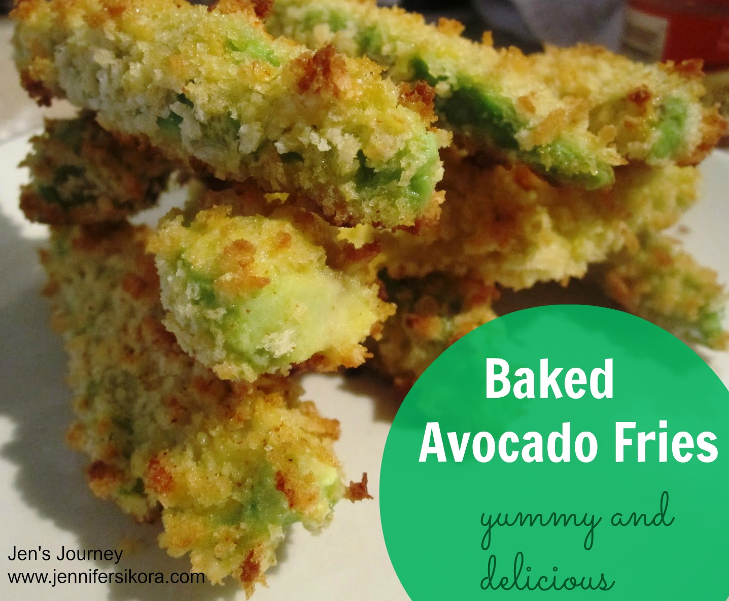 Healthy and Scrumptious Baked Avocado Fries
