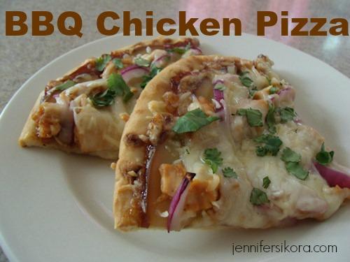 Delicious BBQ Chicken Pizza- Secret Recipe Club