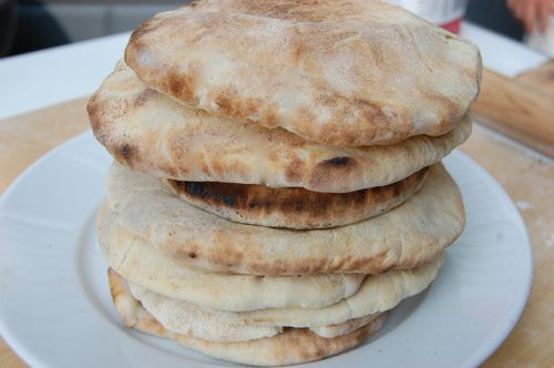print pita bread homemade pitas are super easy to make and will save ...
