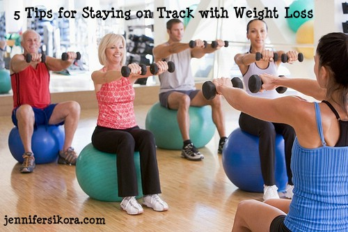 5 Tips for Staying on Track With Weight Loss