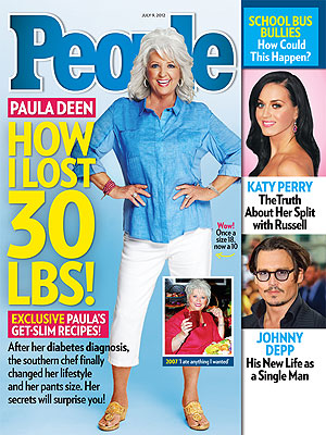 If Paula Deen Can Lose 30 Pounds Y'all So Can I @pauladeen