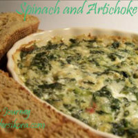 Hot Spinach and Artichoke Dip- an SRC Recipe