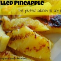 Grilled Pineapple-Easy and Delicious