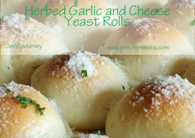 Herb Garlic and Cheese Rolls