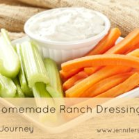 Crazy Cooking Challenge-Homemade Ranch Dressing