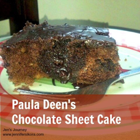 Paula Deen's Chocolate Sheet Cake