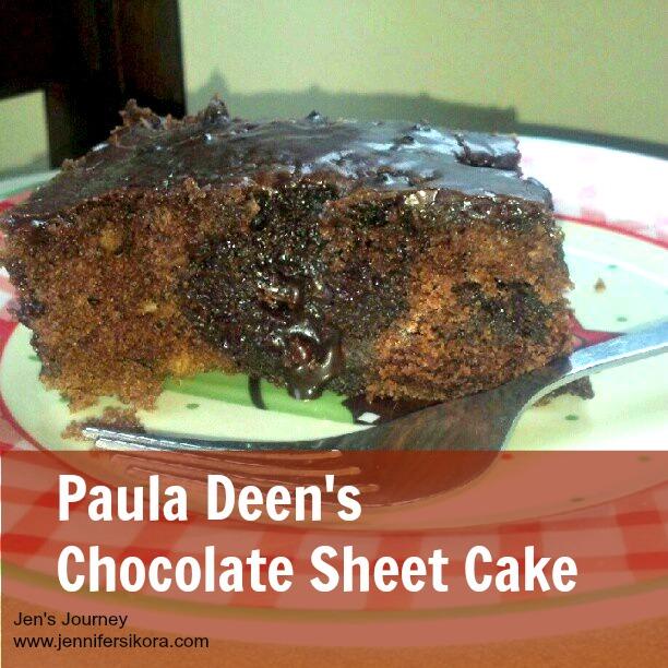 Paula Deen's Chocolate Sheet Cake
