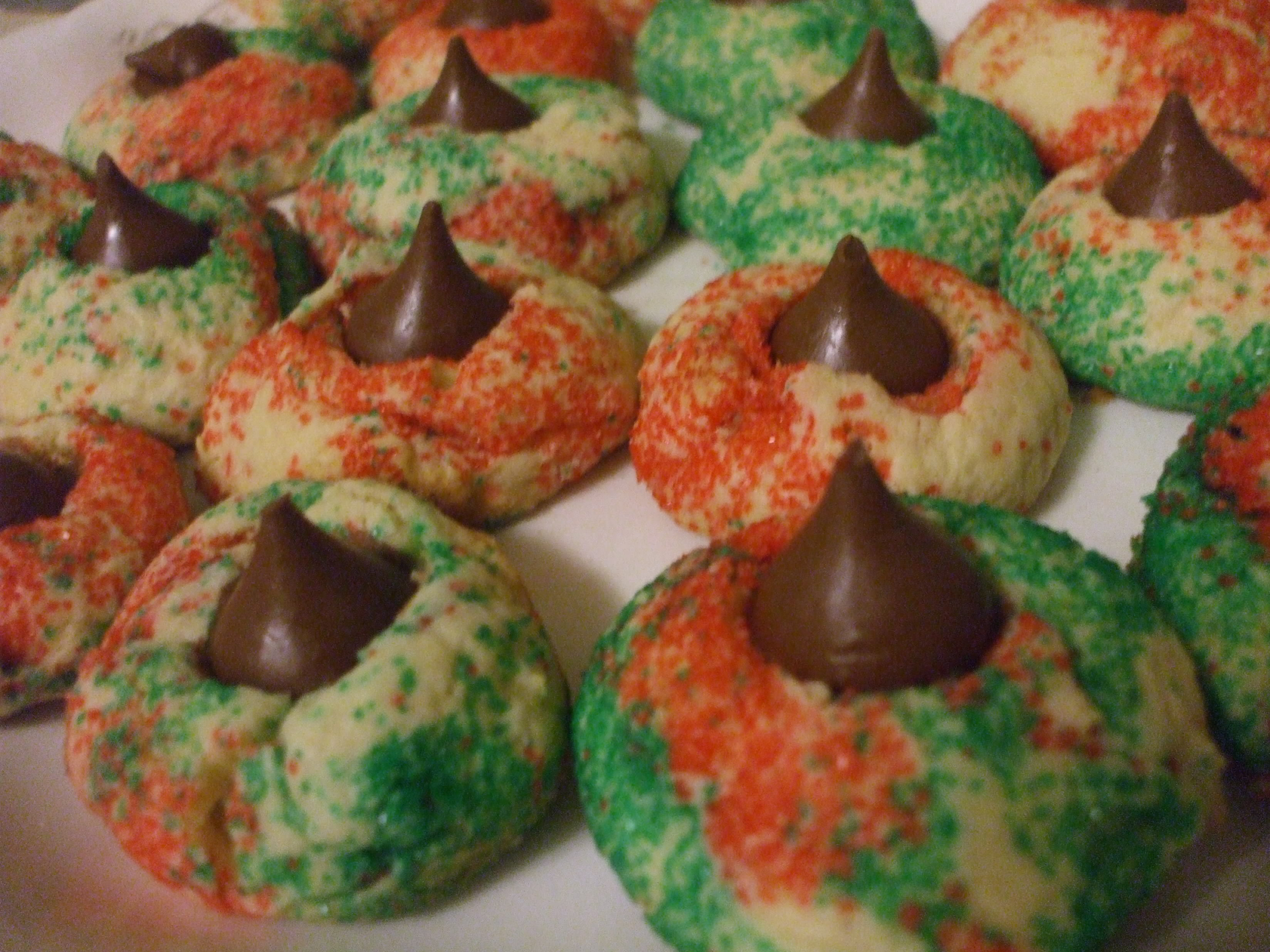 Chocolate Kiss Cookies
