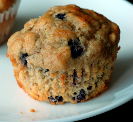Bueberry Oatmeal Muffins