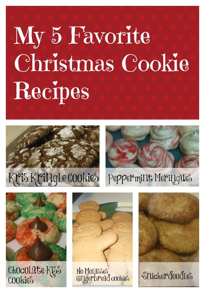 Christmas Cookie Collage