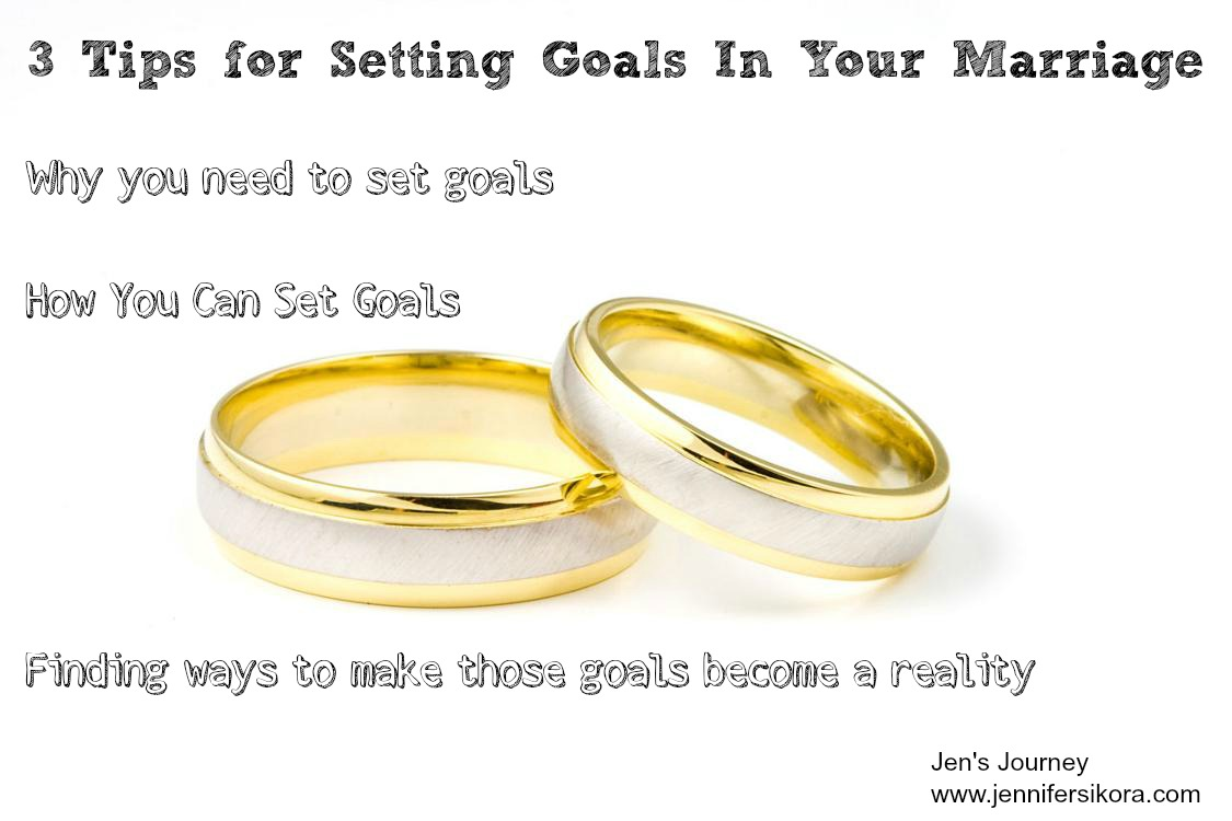 Goal Setting for Your Marriage