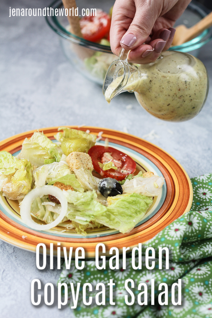 Copycat Olive Garden Salad Dressing Recipe - Jen Around ...