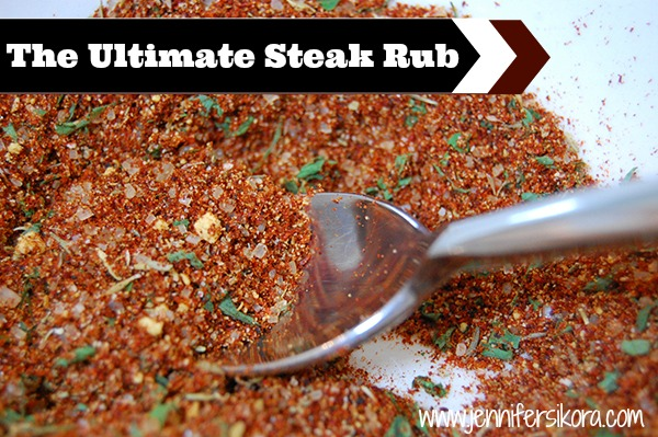 The Ultimate Steak Rub