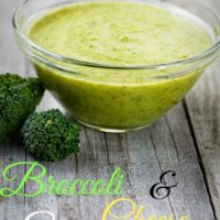 Broccoli and Cheese Soup - An SRC Recipe