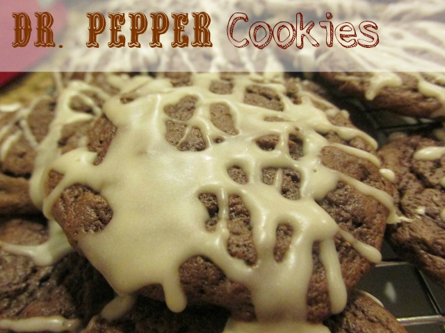 Dr. Pepper Cookies