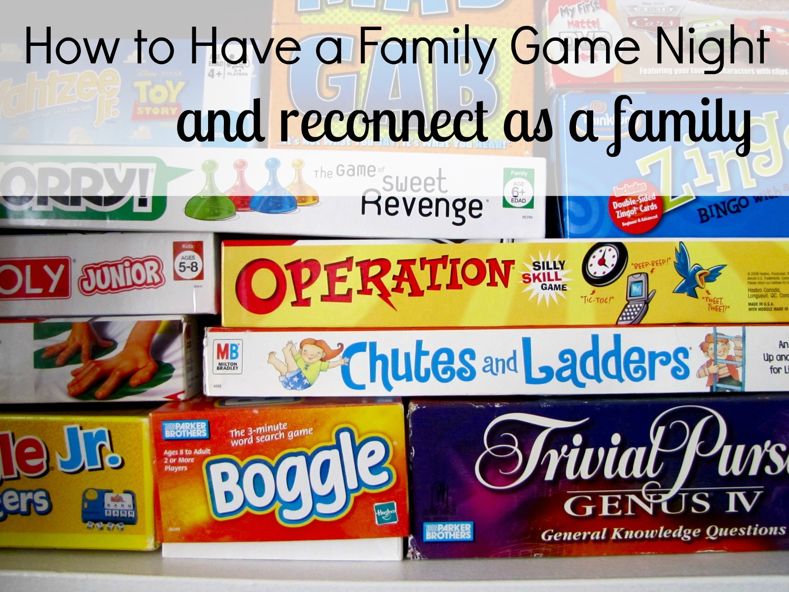 How to Plan a Family Game Night For Your Family (plus Giveaway)