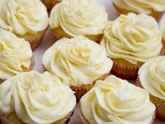 Lemon and Almond Cupcakes- Behind the Curtain Dessert Challenge