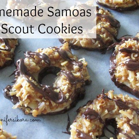 Homemade Samoas