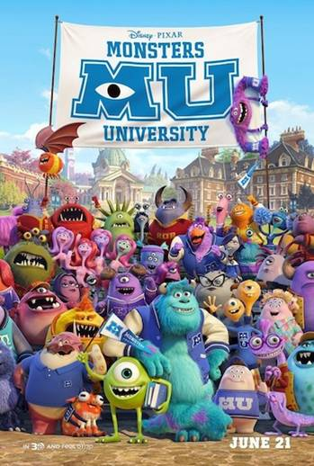 I am SO Excited About Monsters University!