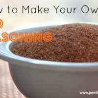 Homemade BBQ Seasoning
