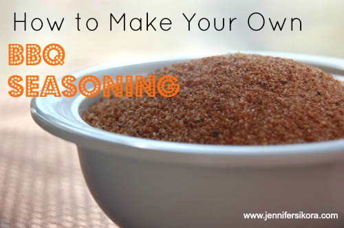 Homemade BBQ Seasoning Mix