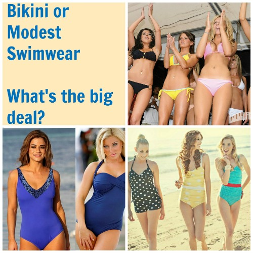 My Thoughts on Bikinis and Modesty