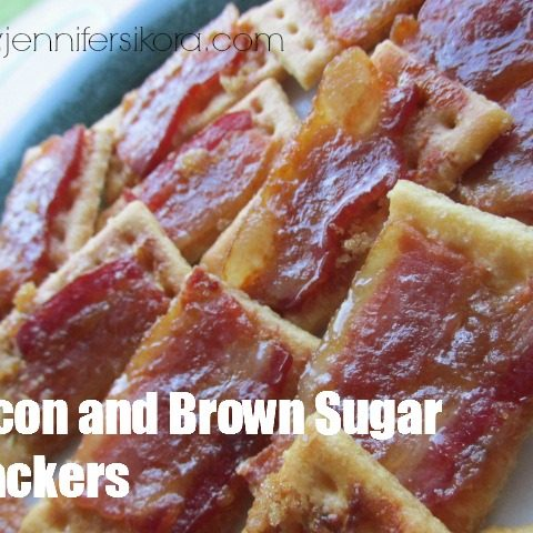 Bacon and Brown Sugar Crackers
