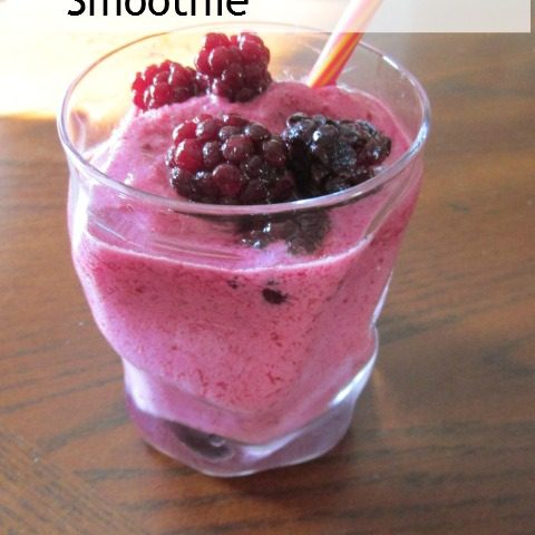 Blackberry Summer Smoothie