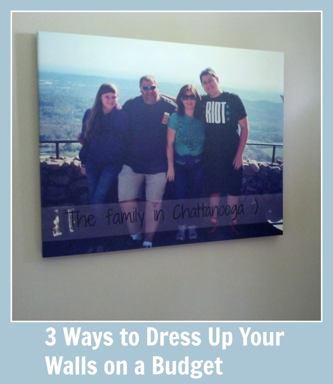 3 Ways to Dress Up Your Walls on a Budget