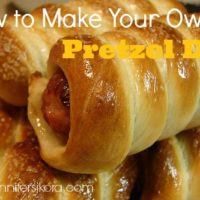 National Hot Dog Day - How to Make Your Own Pretzel Dog
